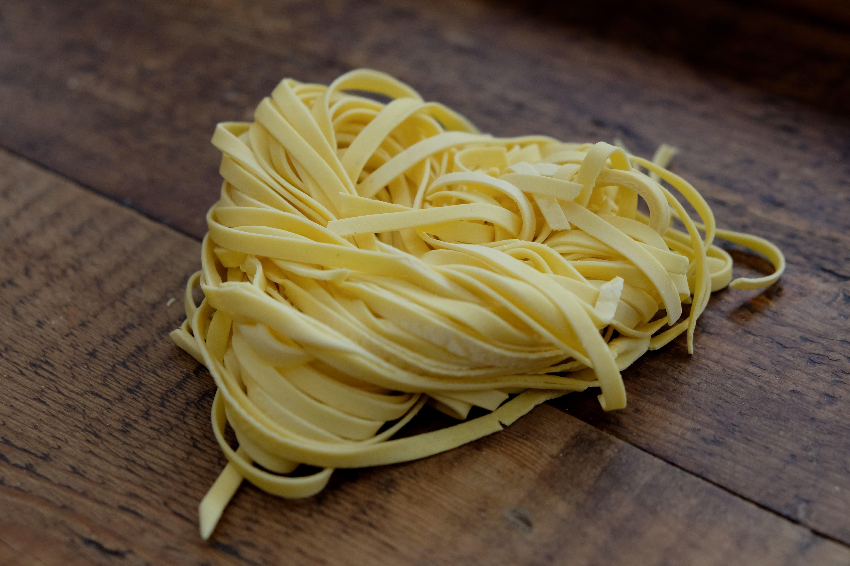 Hjemmelaget pasta tagliatelle